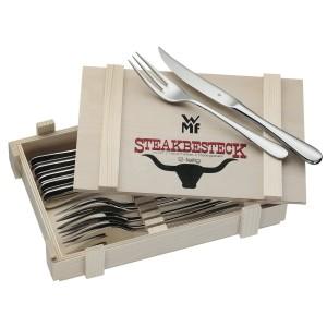 WMF Design-Steakbesteck 12-teilig in Holzkiste