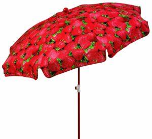 Schneider Sonnenschirm Motiv Erdbeere