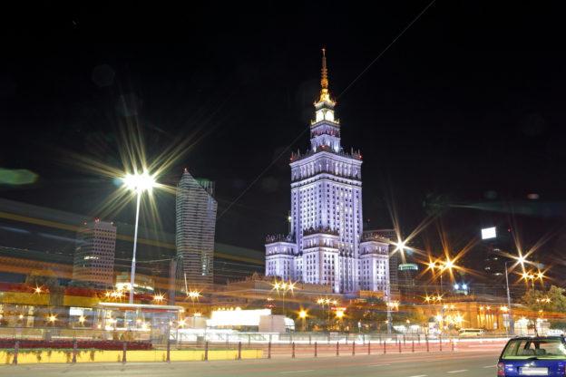 Polen / Warschau: Kultur- und Wissenschaftspalast