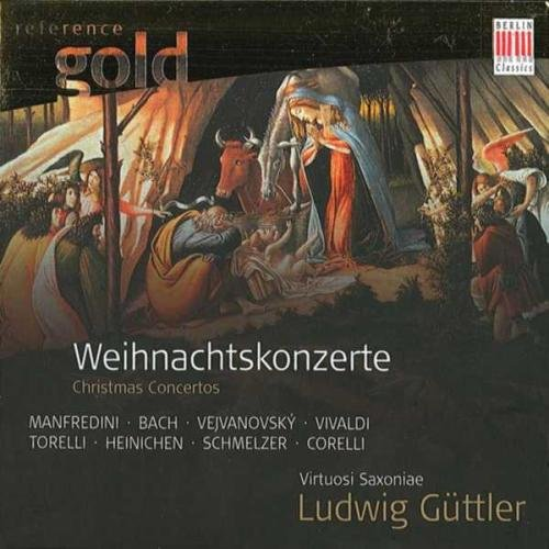 Weihnachtsmusik: Weihnachtskonzerte Bach, Vivaldi - Ludwig Güttler Trompete