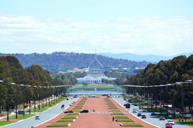 Zeitzone und Uhrzeit: Canberra, Australien