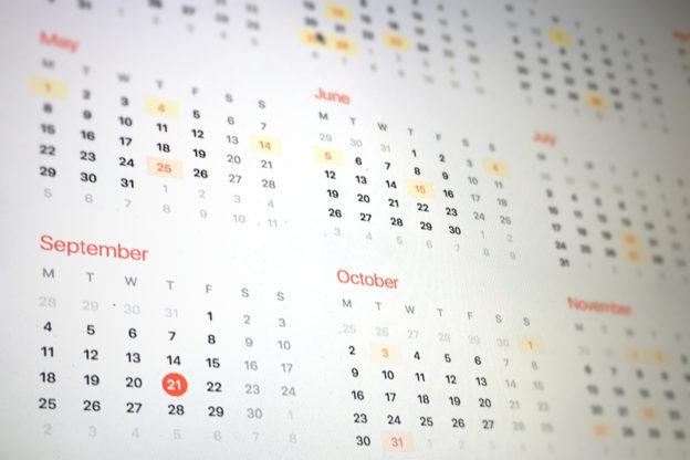 Welcher Tag ist heute? Welches Datum haben wir heute?